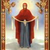 Luni, 1 octombrie - Acoperământul Maicii Domnului
