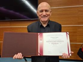 Teatrul Szigligeti - Premiu important pentru actorul Dobos Imre