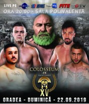 """Gala de K 1 la Arena """"Antonio Alexe"""" - Alexandru Lungu şi Adrian Maxim, la """"Colosseum Tournament XV"""""""