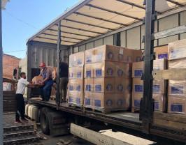 La nivelul județului Bihor - Distribuția pachetelor POAD