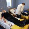 Aleşd: Pompierii au donat sânge