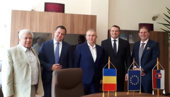 A IV-a aniversare a Zilelor Culturii Slovace - Ambasadorul Republicii Slovace, la CCI Bihor