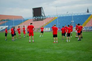 Primele amicale pentru CSM U Oradea - Teste cu Steaua Roşie şi FMP Belgrad