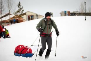 Competiţie la Cercul Polar - Yukon Arctic Ultra 2020 - Tibi Ușeriu între primii trei