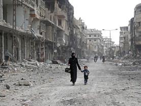 Sute de civili masacraţi în urma unui atac aerian şi la sol - Asalt rusesc în Siria