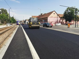 Coridorul Nufărul – Cantemir - A început asfaltarea