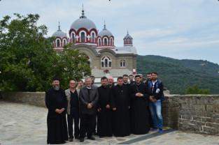 Un pelerinaj la Sfântul Munte Athos - La o degustare athonită: cafea, apă, rahat şi ouzo...