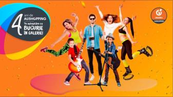 La 4 ani de Aushopping Oradea, orădenii sunt așteptați cu două zile pline de evenimente în centrul comercial și șansa de a câștiga un City Break la Budapesta
