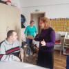 SOS Autism Bihor - Mihaela Tatu, alături de tinerii speciali