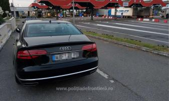 Maşinile, în valoare totală de 60.000 de euro, au fost indisponibilizate - Autoturisme de lux descoperite în Borş