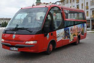În perioada estivală - Autobuzul Cabrio circulă zilnic