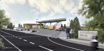 Autogara Beiuş - A fost semnat contractul de lucrări