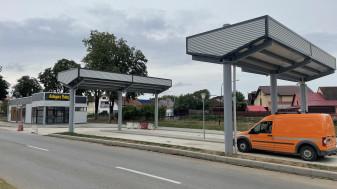 Beiuș - Centrul de transfer călători, gata de utilizare