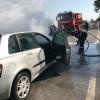 Nojorid - Autoturism în flăcări