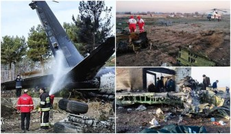 Iran. Toți cei 180 de pasageri au murit - Avion ucrainean prăbuşit
