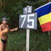 Pe Dunăre-n jos, înoată un român fălos! La jumătatea cursei