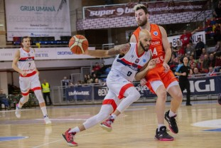 CSM U Oradea - Tsmoki Minsk - Confruntare atractivă în FIBA Europe Cup
