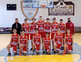 Tot două victorii și o înfrângere la U14 - CSM U Oradea rămâne pe locul 2