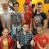 Eveniment caritabil pentru micii sportivi din Salonta - Diamante și box