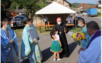 Momente înălțătoare - A fost resfințită biserica greco-catolică