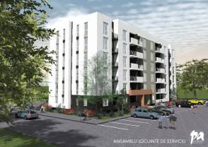 Blocuri construite pentru cei care lucrează în parcurile industriale - Apartamente pentru navetişti