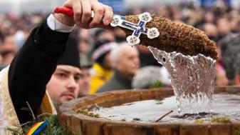 Astăzi, 6 ianuarie, sfinţirea cea mare a apei - Boboteaza, la români