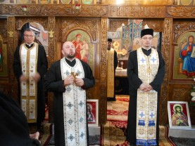 Borod - Schimb de ştafetă la parohia ortodoxă