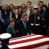 Fostul preşedinte al SUA a murit la vârsta de 94 de ani - George H.W.Bush a fost înmormântat