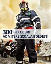 """Înscrieri la Școala de Subofițeri de Pompieri și Protecție Civilă """"Pavel Zăgănescu"""" Boldești - Alege cariera de pompier militar!"""