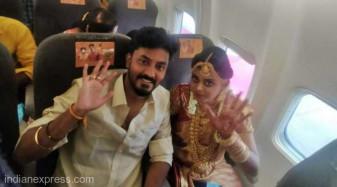 India. Un cuplu a evitat la înălţime restricţiile - Căsătorie în avion