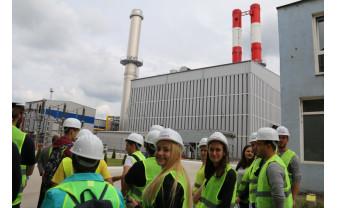 De la vechiul CET pe cărbune la noua centrală pe gaz - Sute de vizitatori la Termoficare