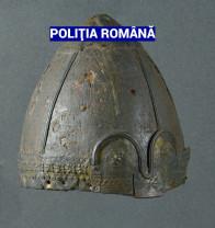 Unicat în România - Coif medieval de sorginte vikingă, recuperat