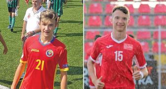 Bihoreni în stagiu de pregătire cu naţionala U16 - Luca Popa şi Alex Gondor vor merge la lot