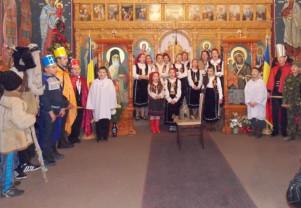"""Concert de colinde la Husasău de Criș - """"Hristos de naște"""""""