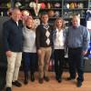 Fosta campioană olimpică se vrea preşedinte la FRA - Constantina Diţă a vizitat LPS Bihorul