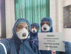 Medicii bihoreni încurajați pe facebook - 39 de persoane infectate, niciun deces!