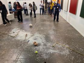 Lucrare de 20.000 de dolari, distrusă din neatenţie - Un critic de artă nemilos