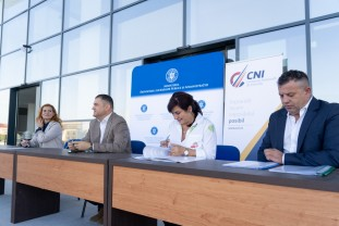 Vizită a ministrului Cseke la Sala Polivalentă - Noi investiţii în Bihor