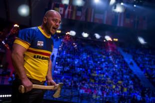 Dan Petrescu va reprezenta România la Campionatul Mondial - Campion național la tăiat lemn