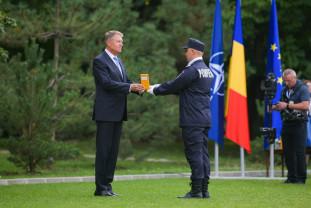 """Prim-adjunctul inspectorului șef al ISU Bihor a primit Ordinul """"Bărbăţie şi Credinţă"""" - Decorat de Președinte"""