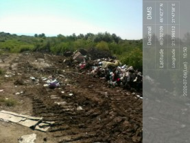 Pentru îngroparea ilegală a deșeurilor - Primăria Batăr, amendată