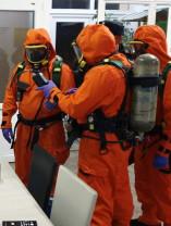 Oradea. Pompierii au intervenit cu mai multe echipaje în Piața Nucetului - Stare de rău după o deratizare