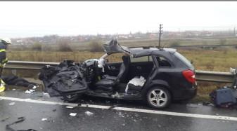 Accident cu doi morţi în Diosig