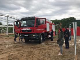 Diosig. Proiectul Volunteer - Centru de instruire pentru pompieri voluntari