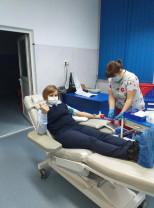 Pompierii militari bihoreni într-o nouă misiune - Salvatorii au donat sânge