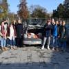 """Elevii Colegiului Tehnic """"Constantin Brâncuşi"""" - Au donat alimente pentru oamenii străzii"""