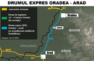 Parteneriat pentru actualizarea studiului de fezabilitate - Drumul expres Oradea-Arad