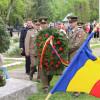 Ceremonial religios şi depuneri de coroane în Cimitirul Municipal din Oradea - Ziua Veteranilor de Război