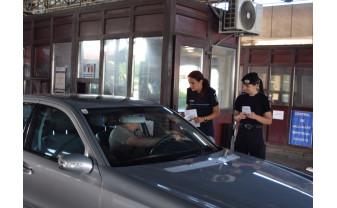 Euro2020 - Poliţiştii au discutat cu străinii care au intrat în ţară