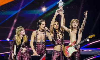Italia a câştigat Eurovision după o pauză de 30 de ani - O trupă rock a impresionat în finală